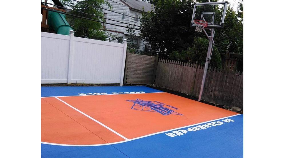 Custom Basketball And Tennis Court Logos And Graphics