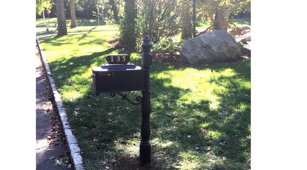 Installation Of Umbrella Stands Flagpoles And Mailboxes