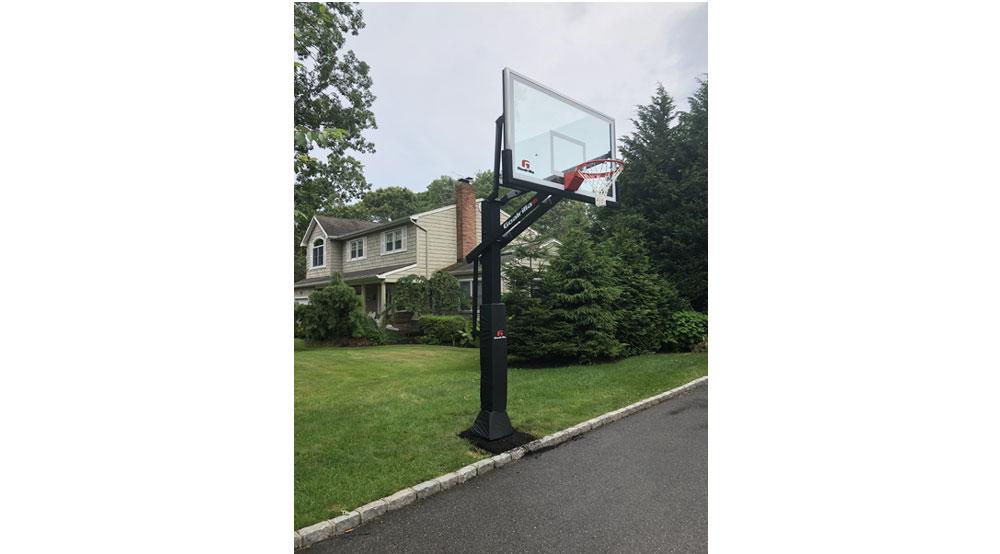 Goalrilla Basketball Hoop Installation Long Island New York